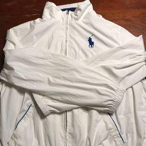 Polo Ralph Lauren White mens adult XL jacket coat